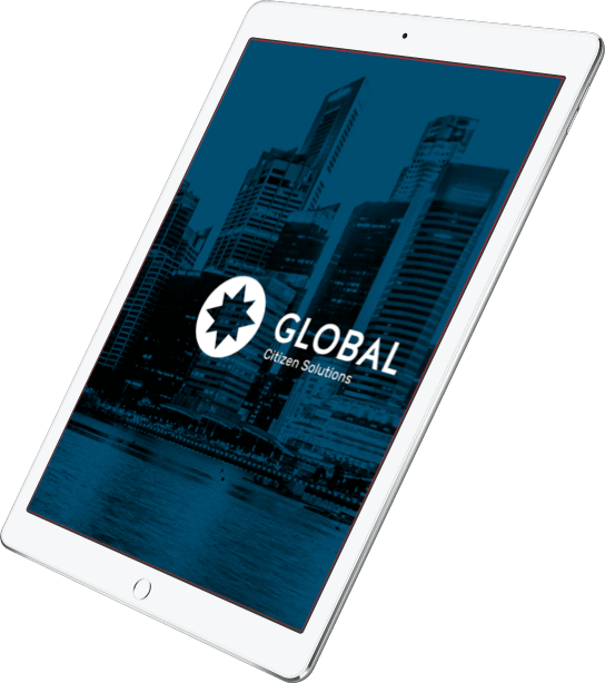 Global Citizen Solutions on iPad