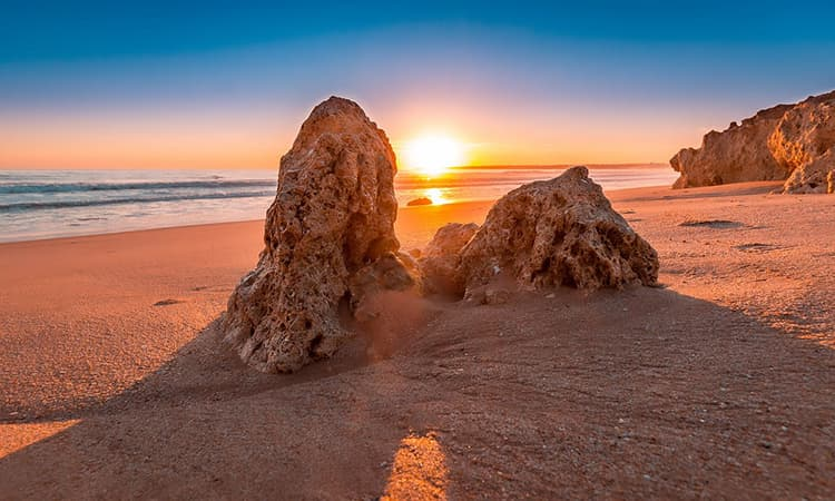 sunset Algarve