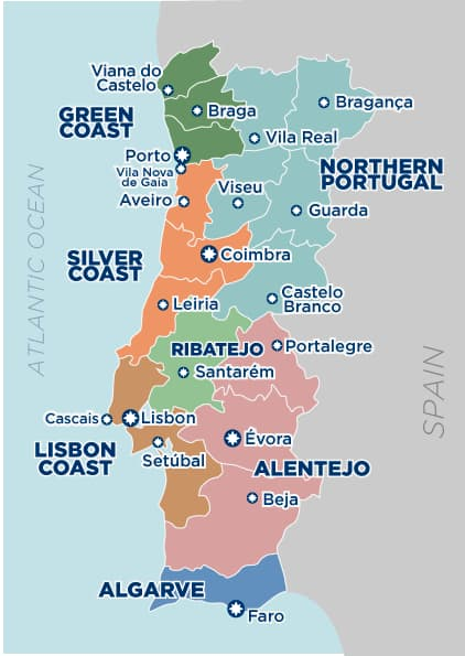 Portugal-map-with-regions--2