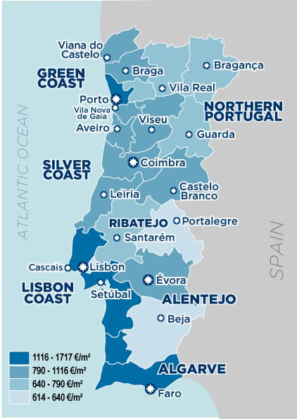 portugal-prices-property-by-region