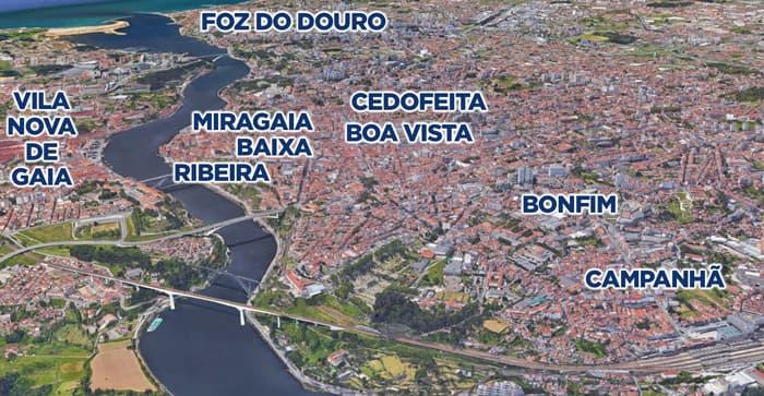 Where to buy property in Porto